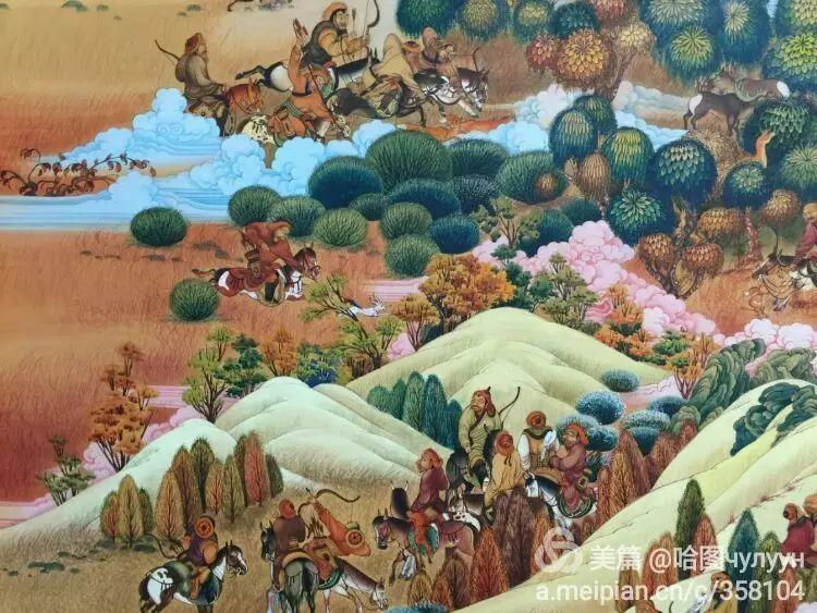 蒙古国90后天才画家普日布苏仁作品展示 第33张
