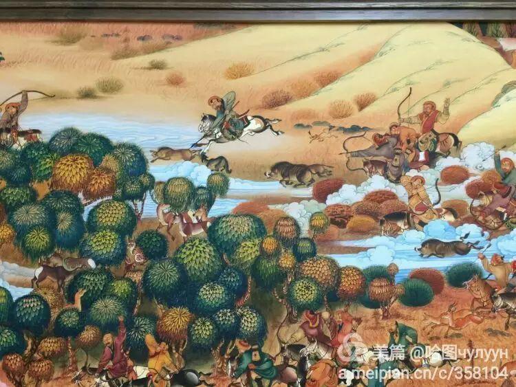 蒙古国90后天才画家普日布苏仁作品展示 第34张