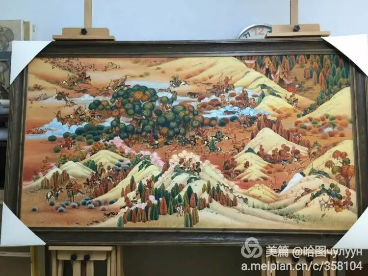 蒙古国90后天才画家普日布苏仁作品展示 第32张