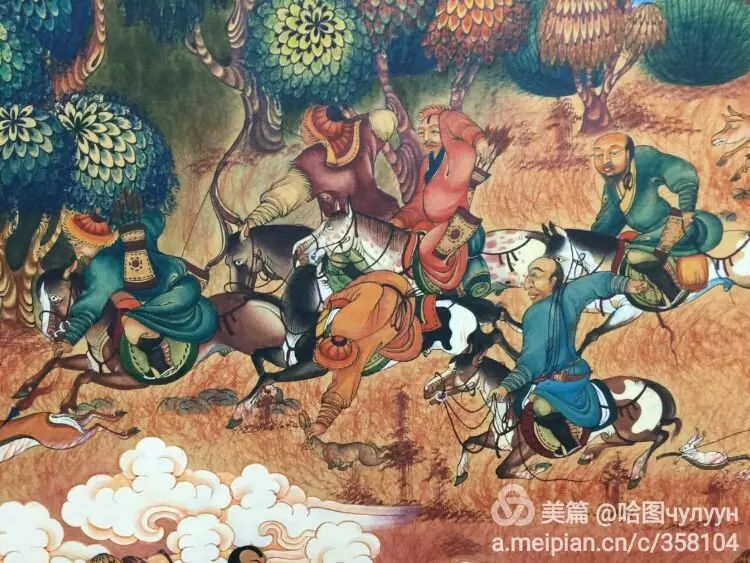 蒙古国90后天才画家普日布苏仁作品展示 第36张