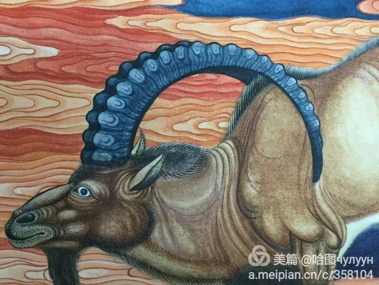 蒙古国90后天才画家普日布苏仁作品展示 第38张