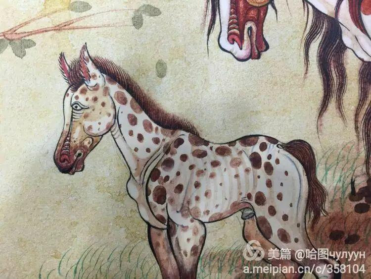 蒙古国90后天才画家普日布苏仁作品展示 第42张