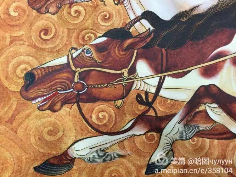 蒙古国90后天才画家普日布苏仁作品展示 第41张