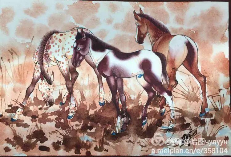 蒙古国90后天才画家普日布苏仁作品展示 第45张