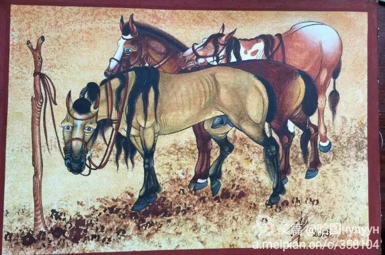 蒙古国90后天才画家普日布苏仁作品展示 第43张
