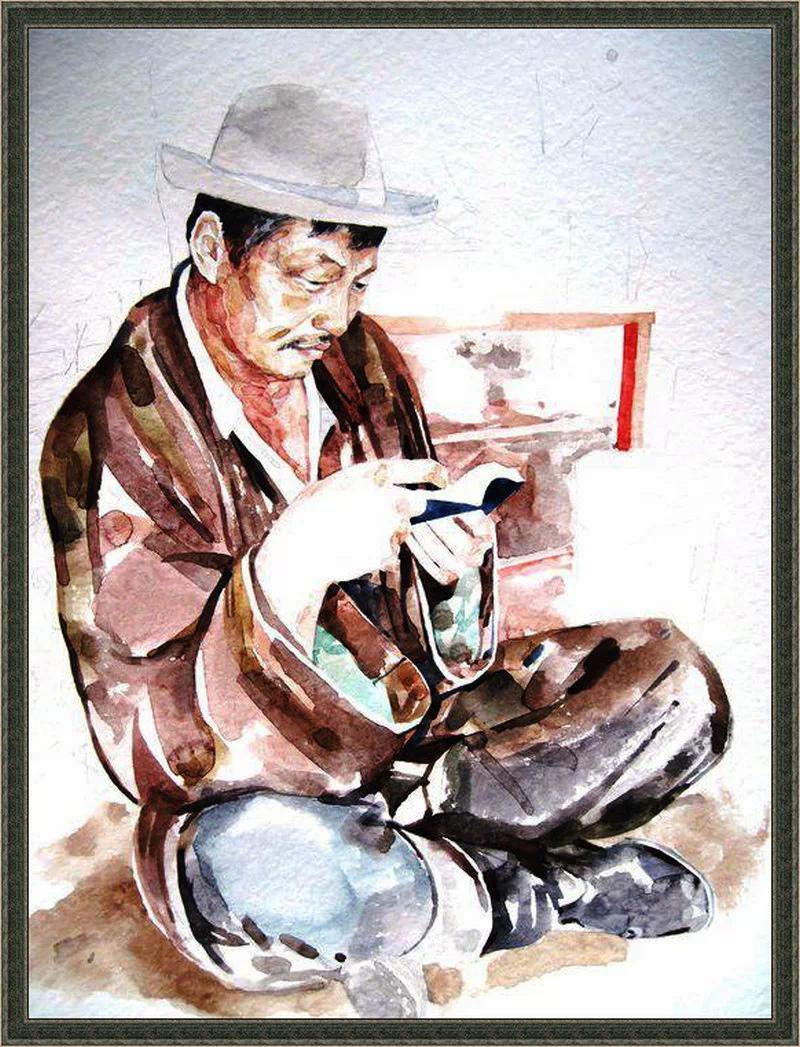 ♡◆蒙古国画家Batna的作品 — 民族绘画艺术 第3张