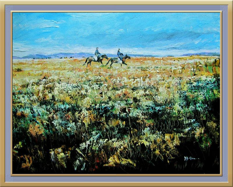 ♡◆蒙古国画家Batna的作品 — 民族绘画艺术 第5张
