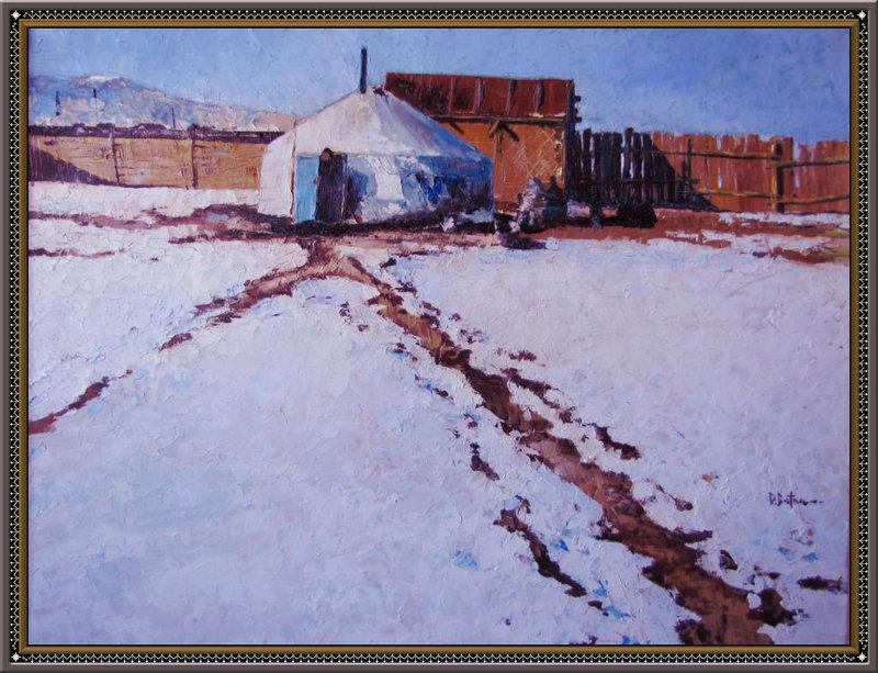 ♡◆蒙古国画家Batna的作品 — 民族绘画艺术 第8张