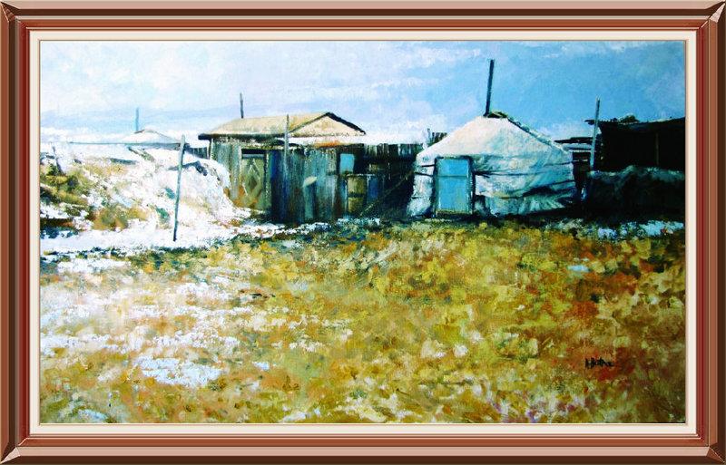 ♡◆蒙古国画家Batna的作品 — 民族绘画艺术 第12张