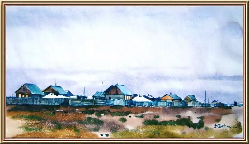 ♡◆蒙古国画家Batna的作品 — 民族绘画艺术 第14张