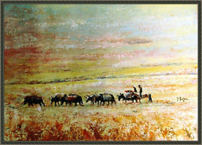 ♡◆蒙古国画家Batna的作品 — 民族绘画艺术 第13张