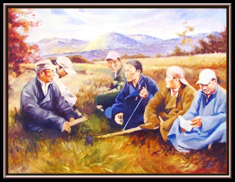 ♡◆蒙古国画家Batna的作品 — 民族绘画艺术 第18张