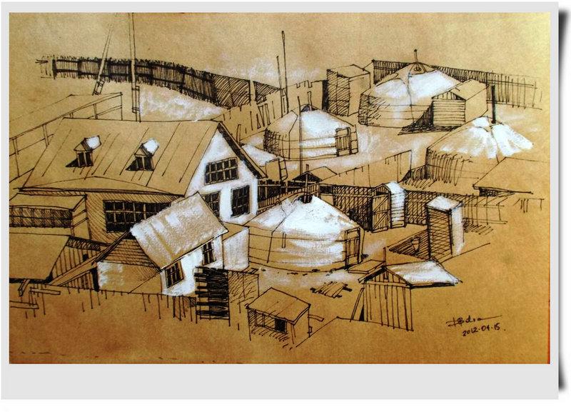 ♡◆蒙古国画家Batna的作品 — 民族绘画艺术 第22张