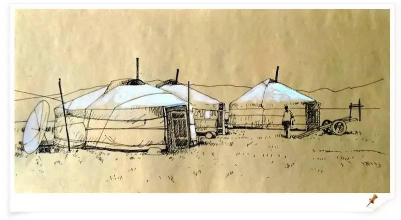 ♡◆蒙古国画家Batna的作品 — 民族绘画艺术 第26张