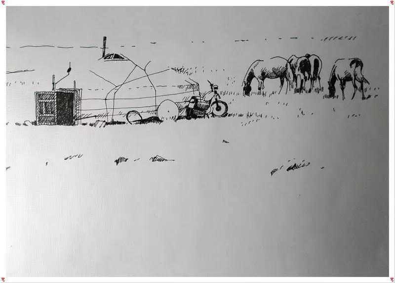 ♡◆蒙古国画家Batna的作品 — 民族绘画艺术 第23张