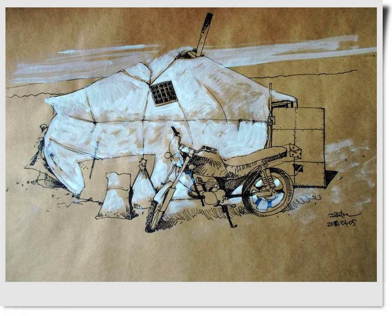 ♡◆蒙古国画家Batna的作品 — 民族绘画艺术 第28张