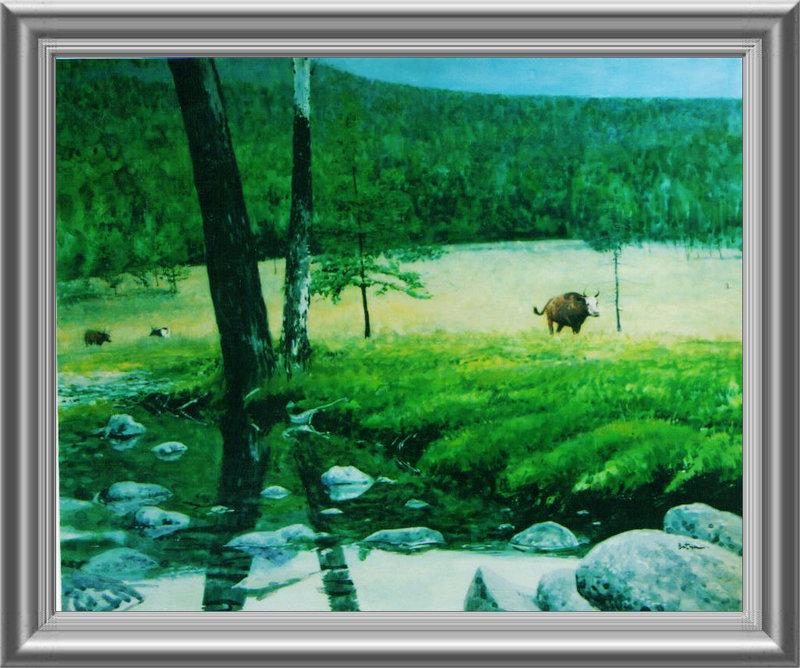 ♡◆蒙古国画家Batna的作品 — 民族绘画艺术 第30张