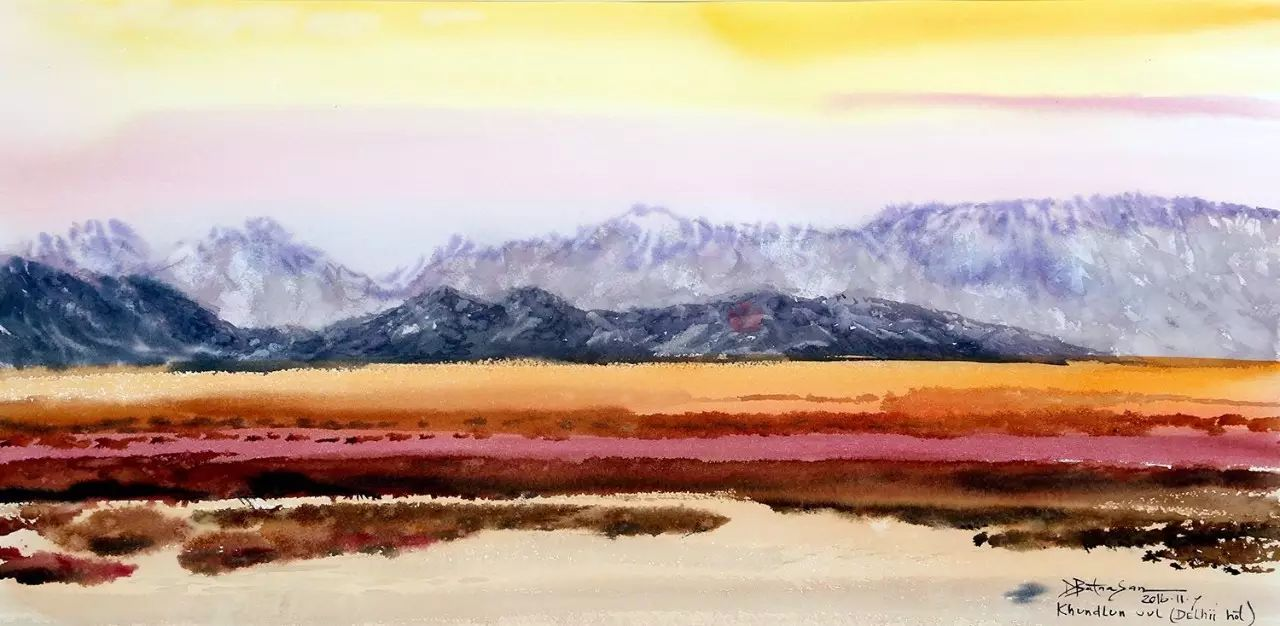 蒙古国作品赏析——来自草原的献礼 第13张
