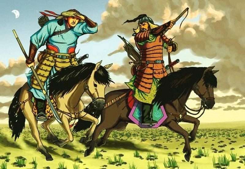 ©◆民族艺术 — 蒙古国布仁额尔敦绘画作品 第2张