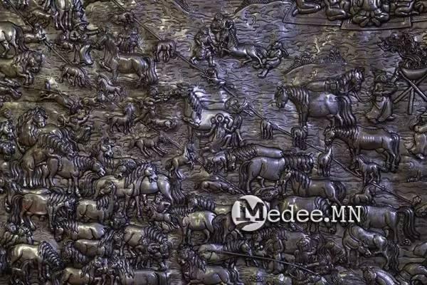 """蒙古国""""蒙古工匠艺术展""""作品欣赏 第6张"""