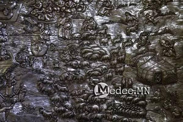 """蒙古国""""蒙古工匠艺术展""""作品欣赏 第5张"""