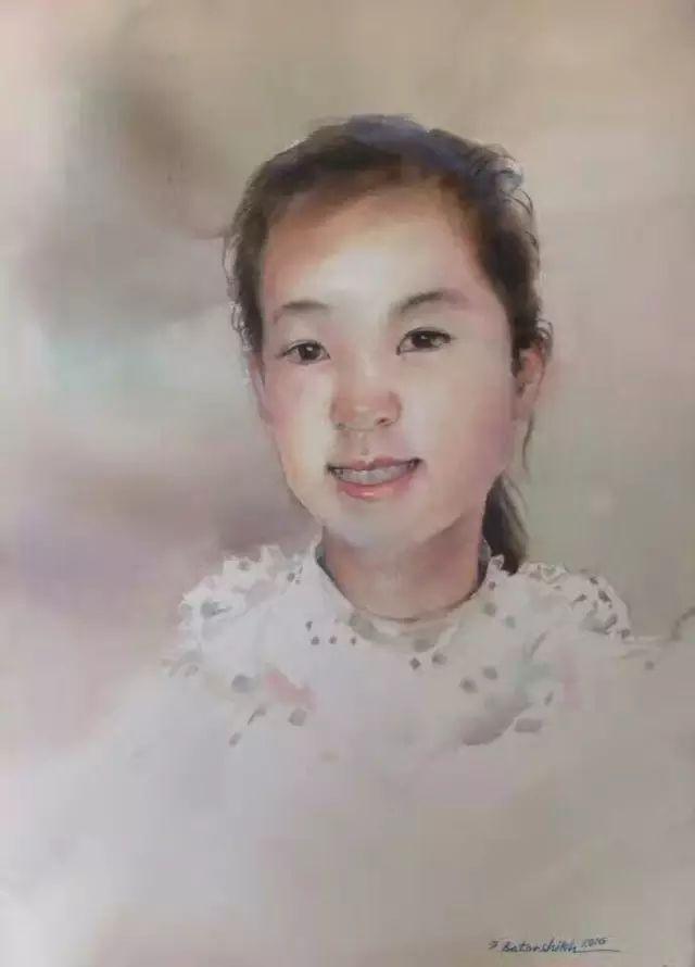 蒙古国水彩画作品赏析 第8张