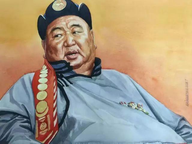 蒙古国水彩画作品赏析 第21张
