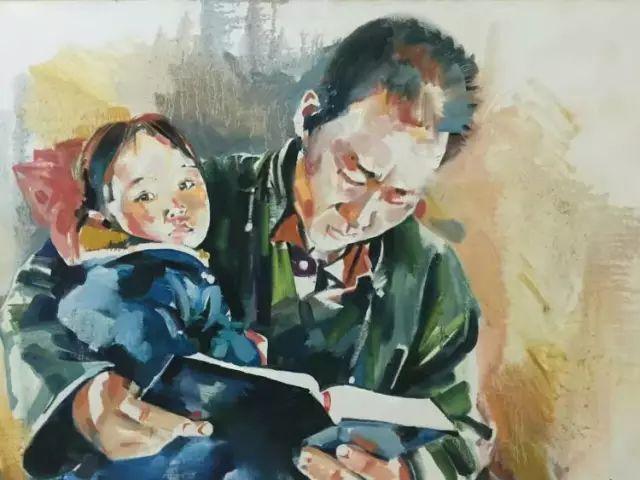 蒙古国水彩画作品赏析 第24张