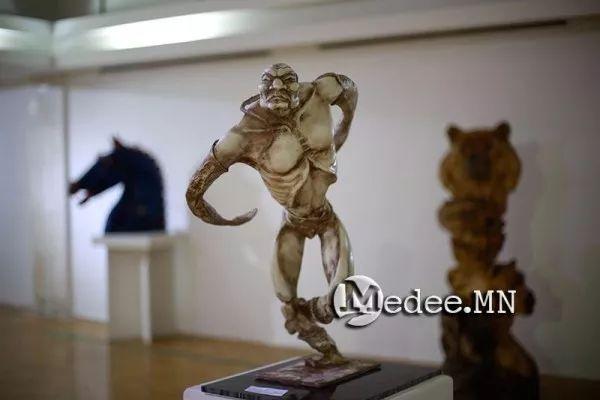 """蒙古国""""Toi-2017""""雕刻家雕刻作品会展 第4张"""