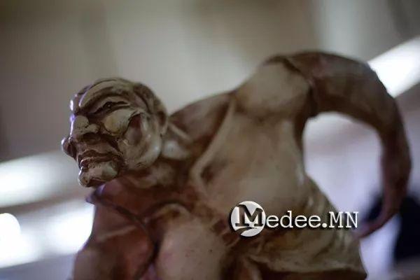 """蒙古国""""Toi-2017""""雕刻家雕刻作品会展 第5张"""