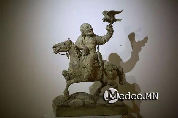 """蒙古国""""Toi-2017""""雕刻家雕刻作品会展 第8张"""