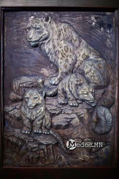 """蒙古国""""Toi-2017""""雕刻家雕刻作品会展 第10张"""