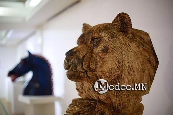 """蒙古国""""Toi-2017""""雕刻家雕刻作品会展 第13张"""