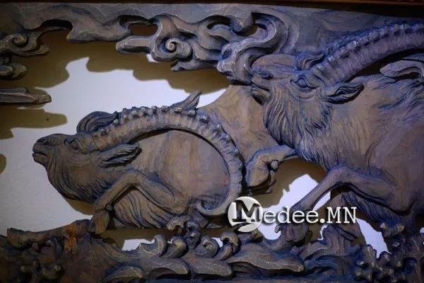 """蒙古国""""Toi-2017""""雕刻家雕刻作品会展 第12张"""