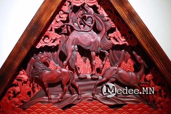 """蒙古国""""Toi-2017""""雕刻家雕刻作品会展 第20张"""