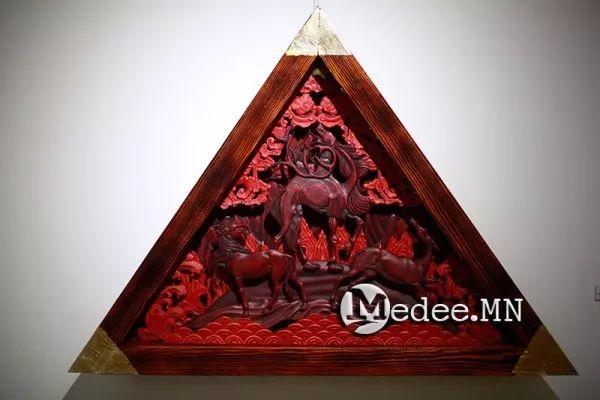 """蒙古国""""Toi-2017""""雕刻家雕刻作品会展 第21张"""