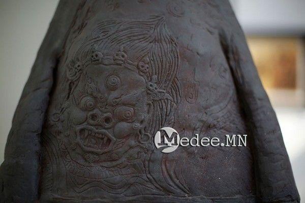 """蒙古美术家协会""""秋""""作品集欣赏 第12张"""