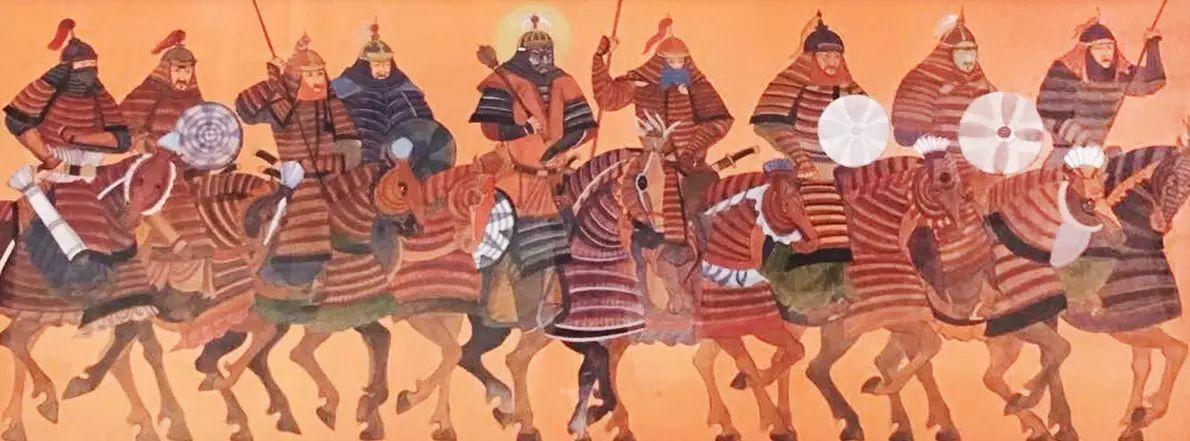 走过色彩草原   蒙古国作品赏析 第4张