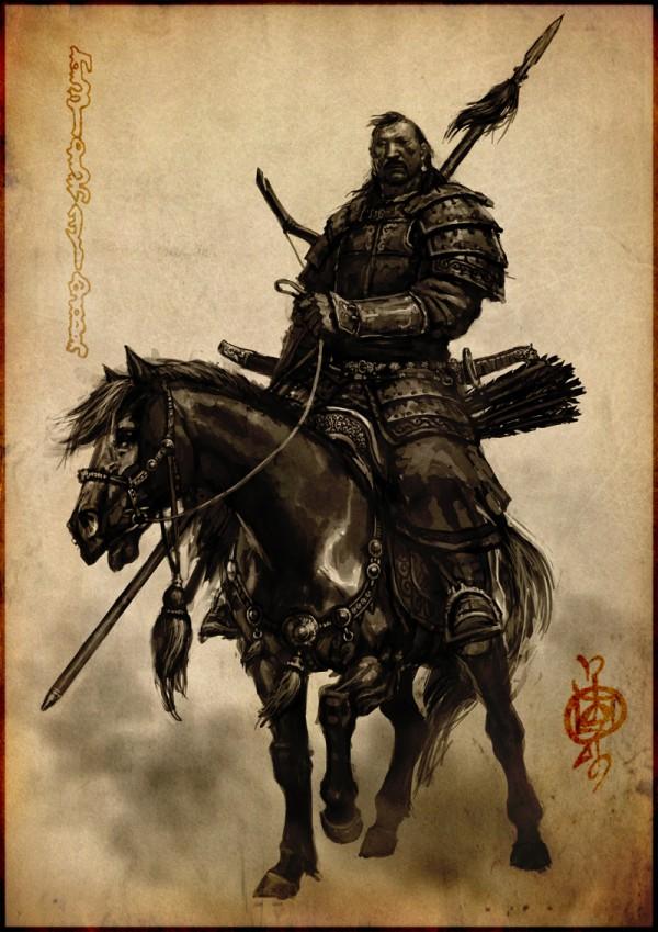 蒙古插画家bitrix studio作品欣赏 第4张