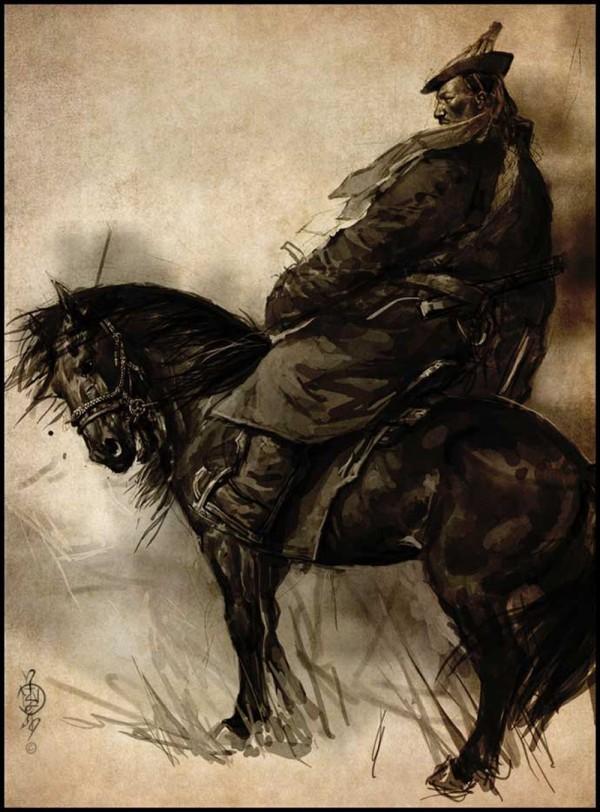 蒙古插画家bitrix studio作品欣赏 第8张