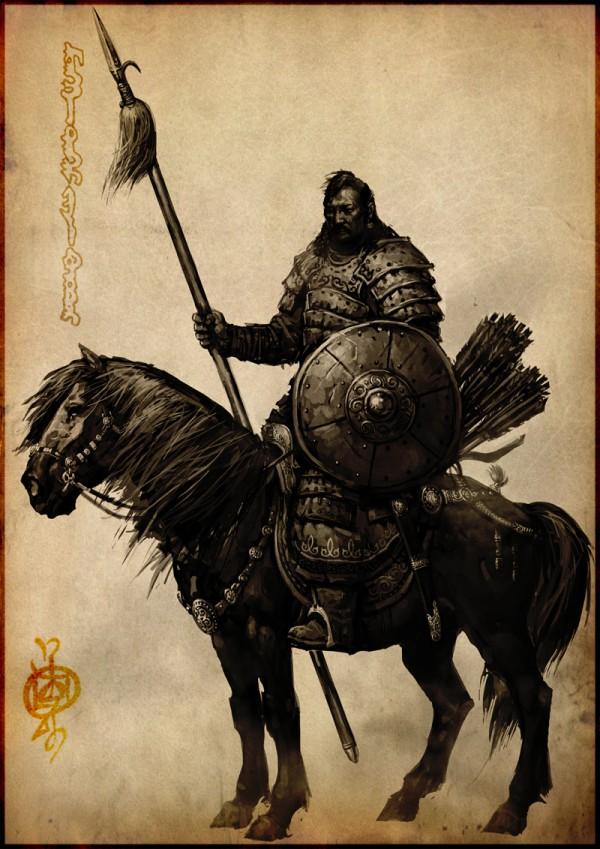 蒙古插画家bitrix studio作品欣赏 第7张