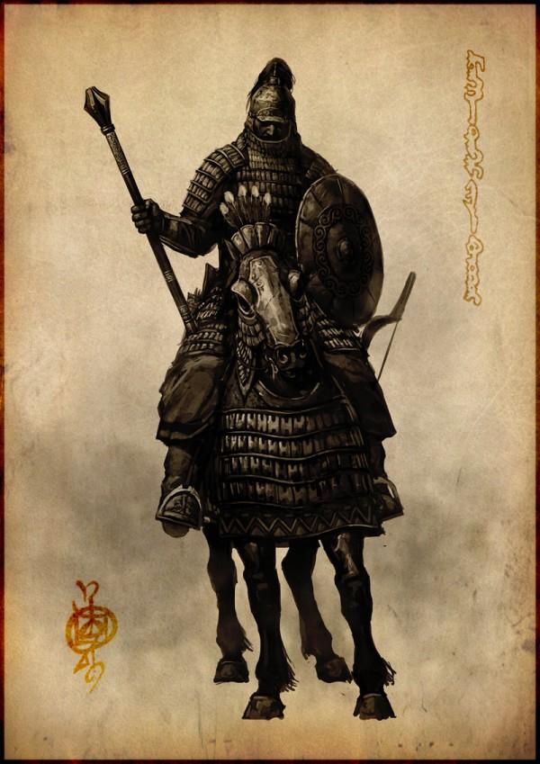 蒙古插画家bitrix studio作品欣赏 第6张