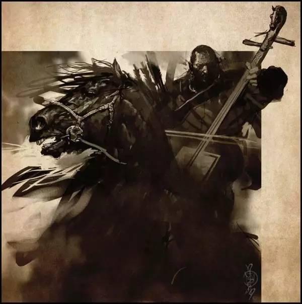 蒙古插画家bitrix studio作品欣赏 第11张