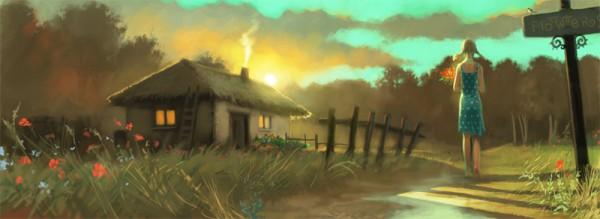 蒙古插画家bitrix studio作品欣赏 第16张
