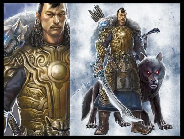 蒙古插画家bitrix studio作品欣赏 第21张