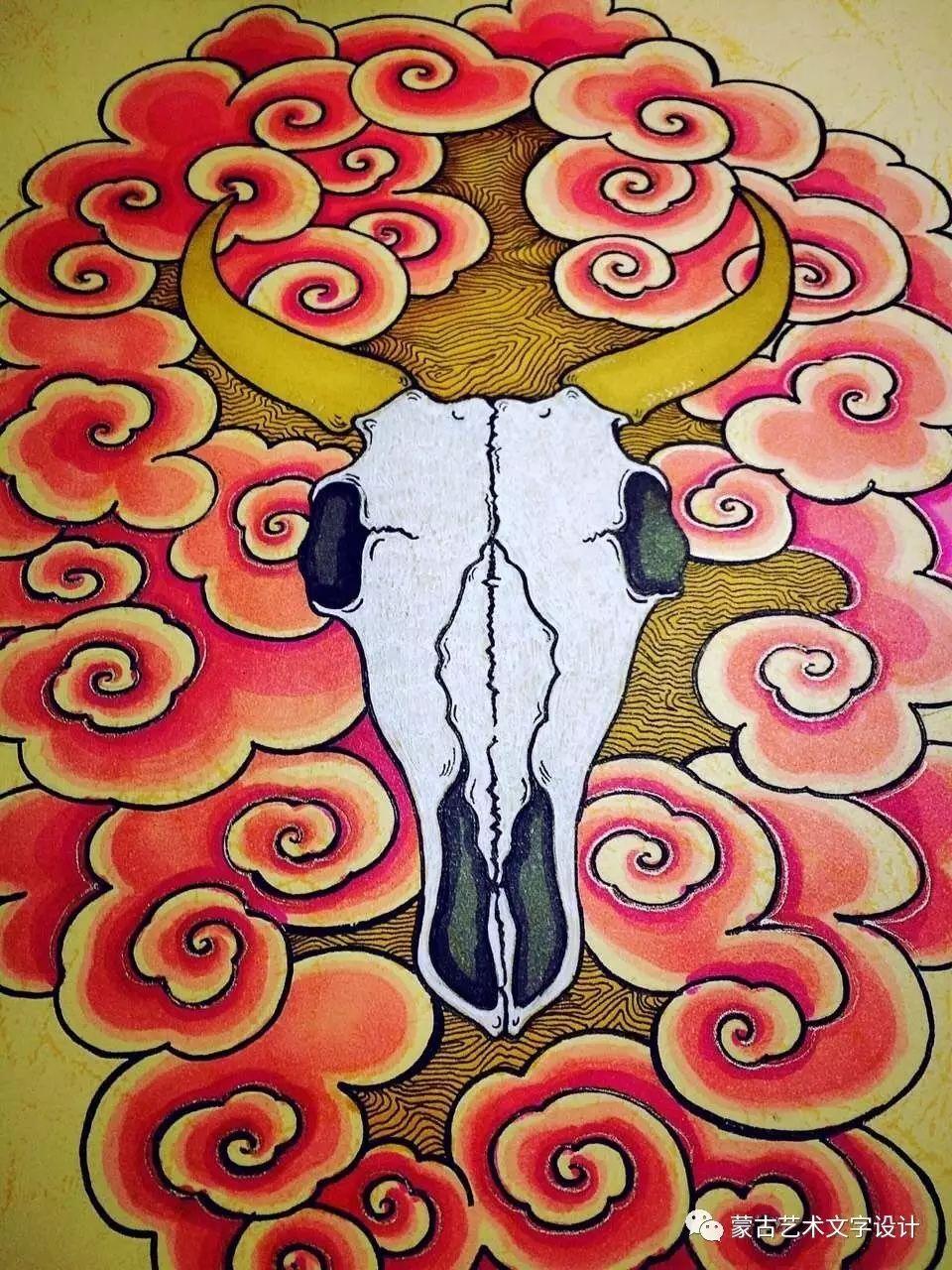 青格尔—— 蒙古族原创插画 第18张