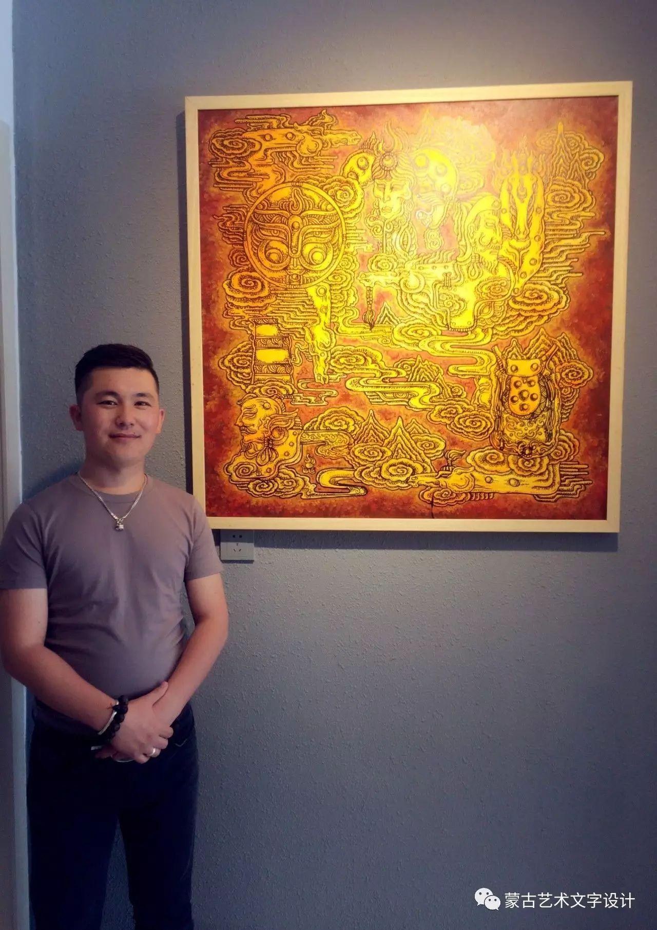 青格尔—— 蒙古族原创插画 第47张