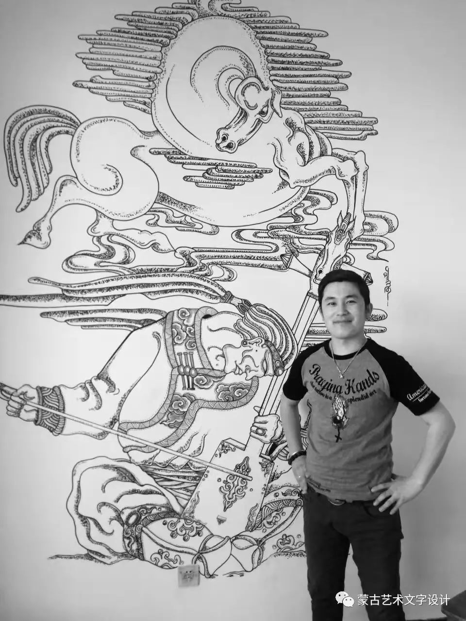 青格尔—— 蒙古族原创插画 第49张