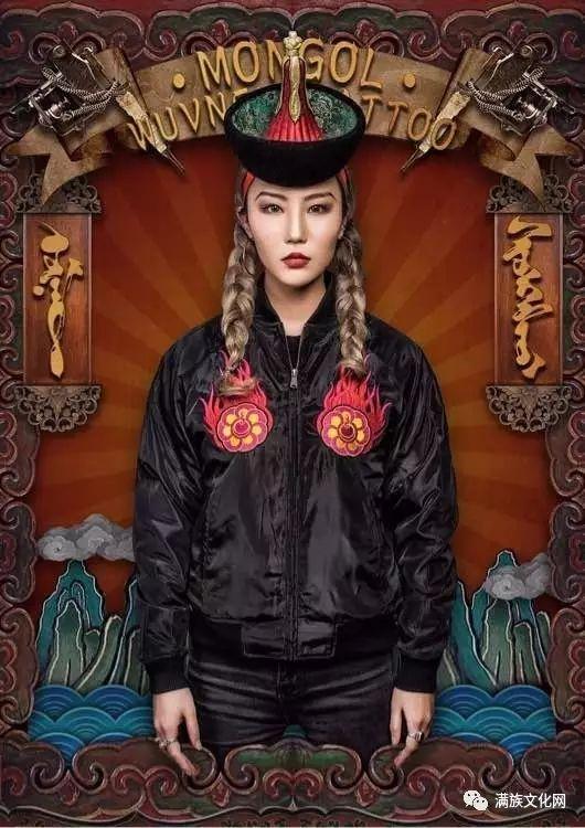 一组有着浓郁蒙古民族风格的插画作品 第19张