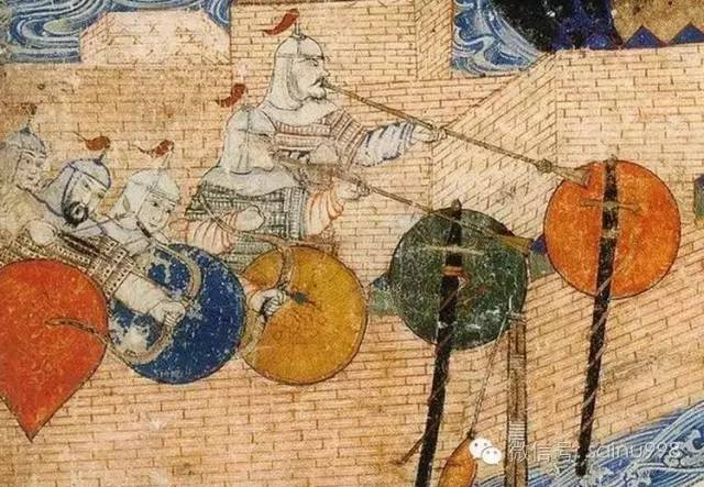 蒙古帝国时期蒙古人的武器装备 第9张